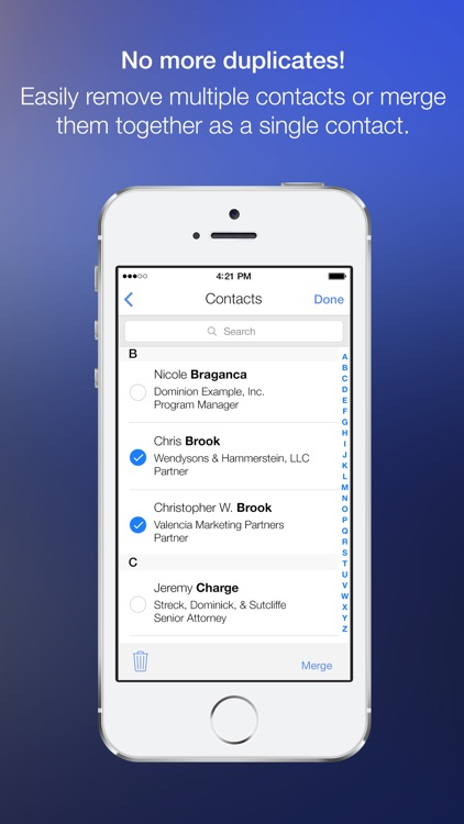 CleanUp Contacts Suite screenshot-3