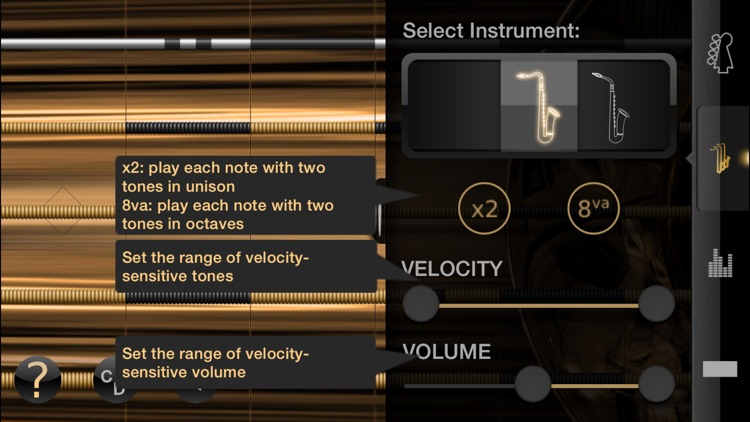 iFretless Sax screenshot-1
