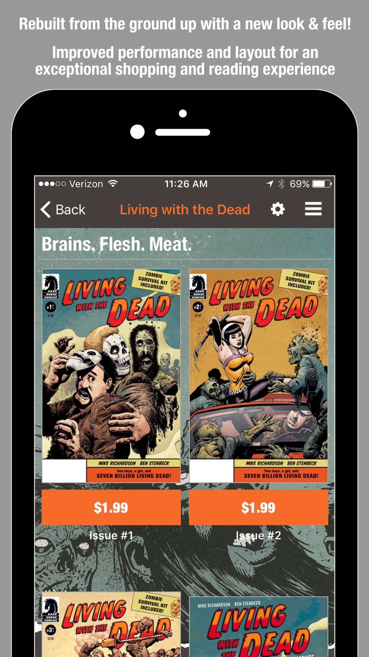 Dark Horse Comics Screenshot