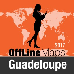 Guadeloupe Offline Map and Travel Trip Guide