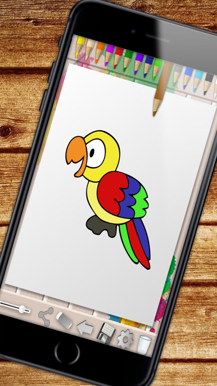 Zoo Coloring Book – color and paint jungle animals