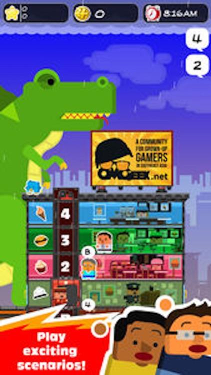 Elevator Joe: City Hotel Management Tycoon Sim screenshot-4