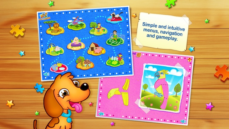 123 Kids Fun ANIMATED PUZZLE Jigsaw Puzzles Games