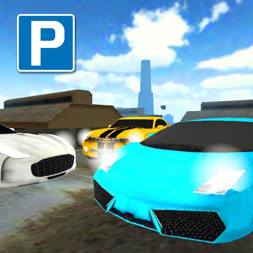 Sports Car Parking : Real Skill Driving FREE Version icon