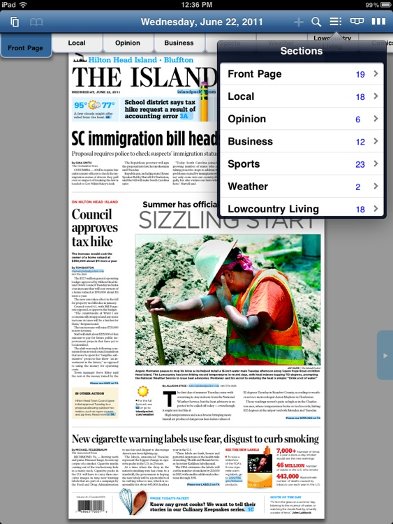 The Island Packet E-Edition screenshot-2