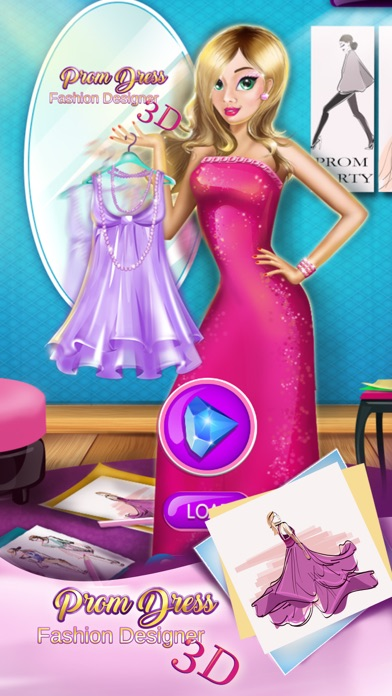 Prom Dress Fashion Designer: 3D Games For Girls | App Price Drops