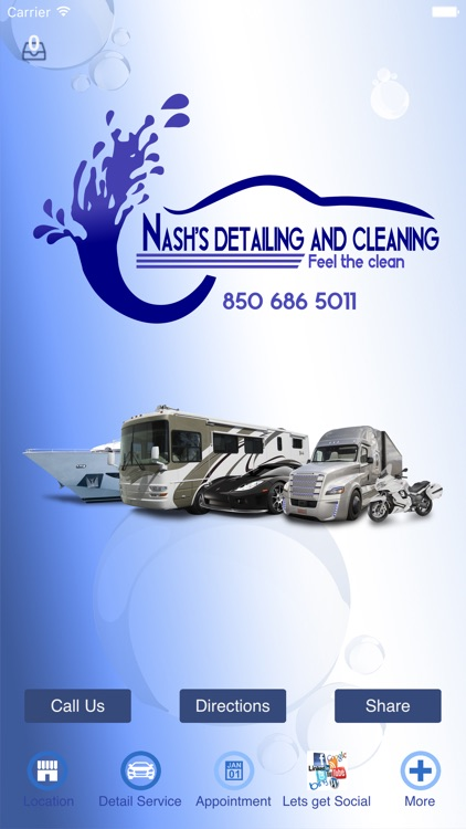 Nash's Detailing And Cleaning.