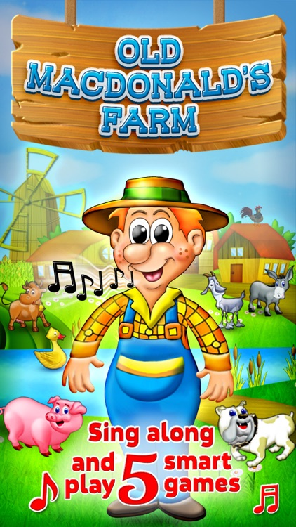 Old Macdonald Had a Farm - Sing Along Full Version