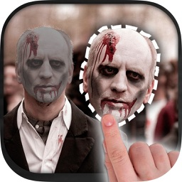 Cut paste Halloween photo editor with Stickers