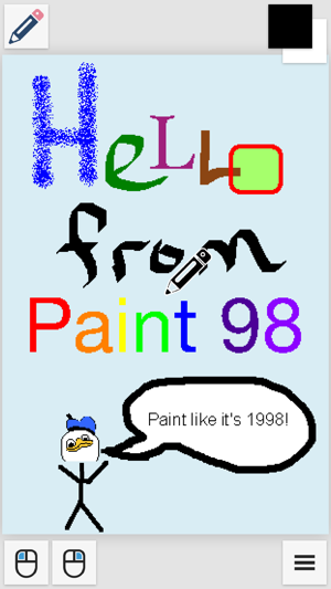 Paint 98 on the App Store