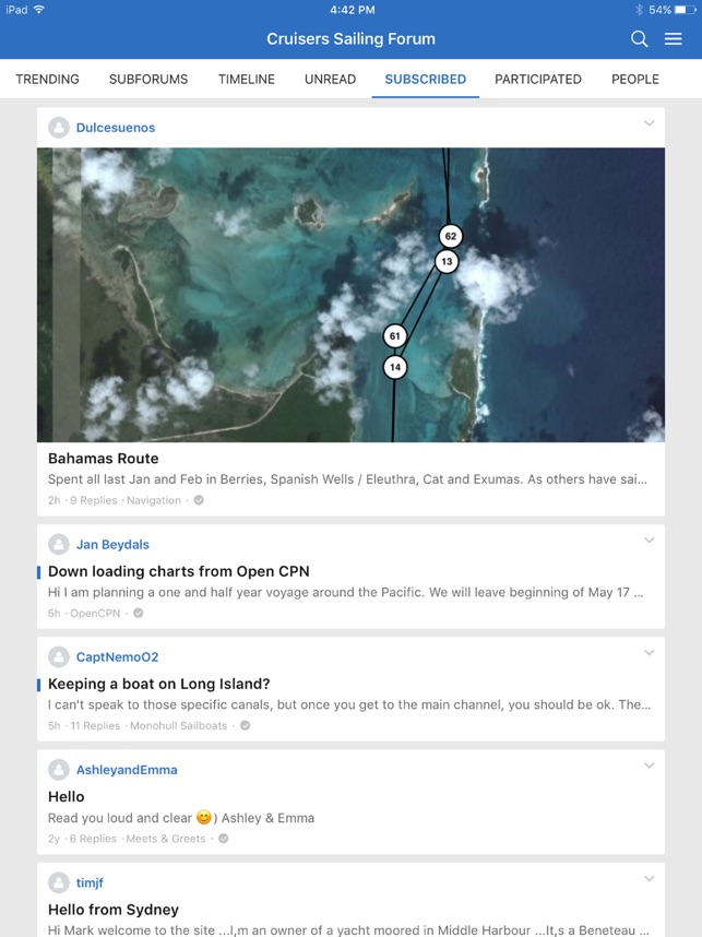 Sailing & Boating Community on the App Store