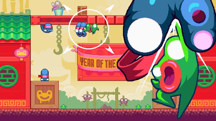 Green Ninja: Year of the Frog screenshot-0
