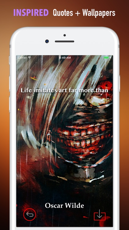 HD Wallpapers for Tokyo Ghoul-Quotes and Pictures screenshot-4