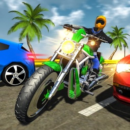 Bike racing Highway Traffic Wheeling 3D master