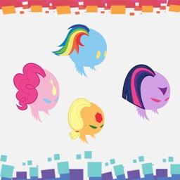 My Little Rainbow Bounce Flying Magic Dash