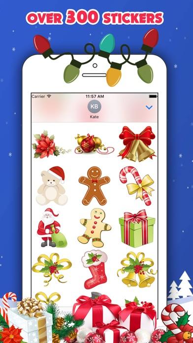 300 Christmas Stickersのスクリーンショット2