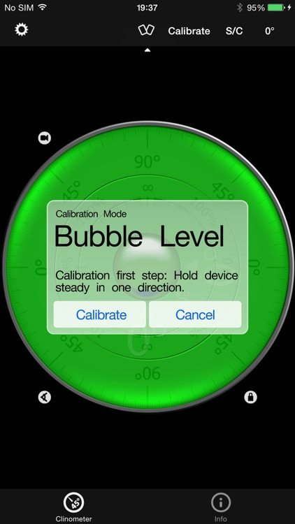 Clinometer + bubble level + slope finder (3 in 1) screenshot-3