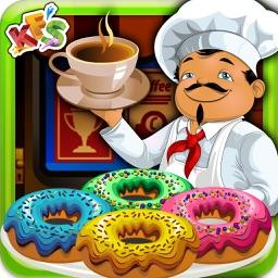 Coffee Donut Cooking - Dessert Maker game