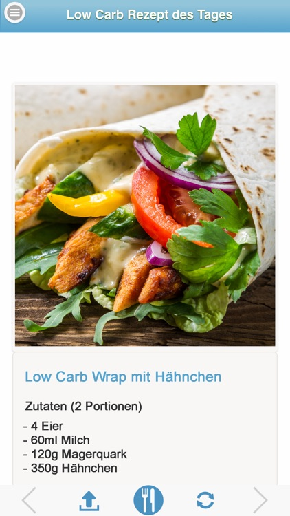 Low Carb Rezept des Tages PRO - LowCarb Rezepte screenshot-1