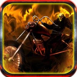Halloween Stunt Ghost Rider 3D - Trek And Treats