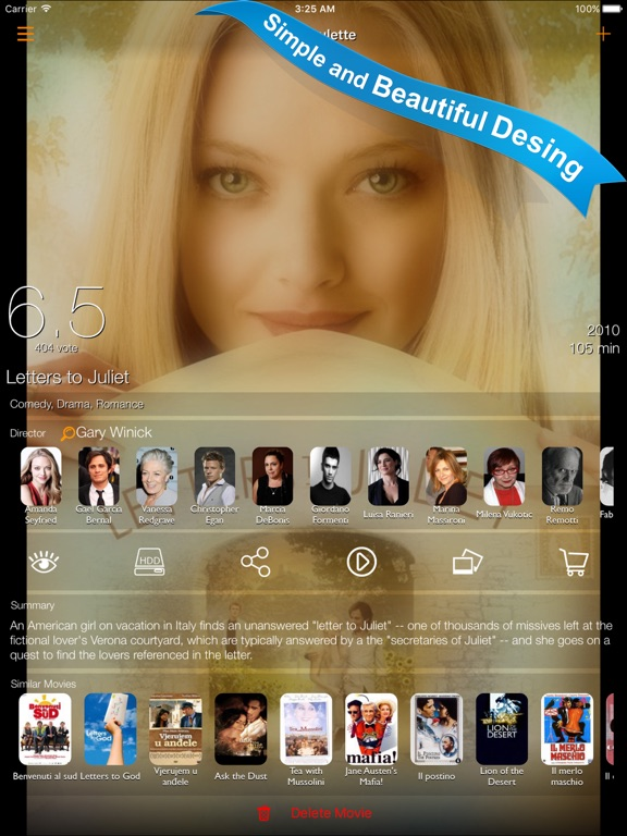 Filmbox App Screenshots