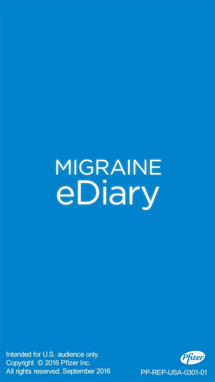 Migraine eDiary Screenshot