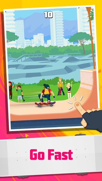 Halfpipe Hero - Retro Arcade Skateboarding screenshot-0