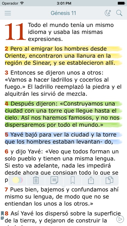 La Biblia Latinoamericana (Audio Bible in Spanish) screenshot-0