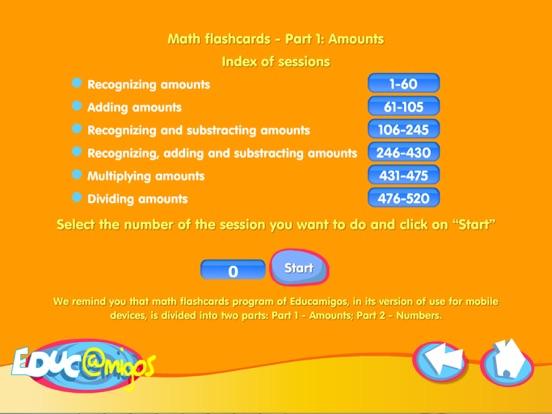 Math Flashcards - Amounts-ipad-2