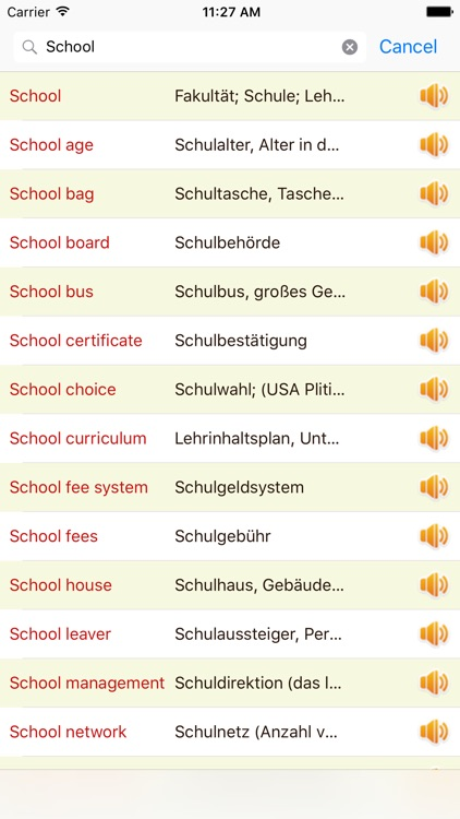 English German Dictionary Offline Free screenshot-1