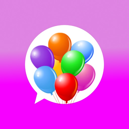 Birthday stickers for iMessage