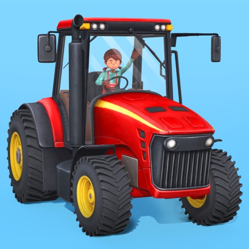 Little Farmers - Tractors and Harvesters for Kids