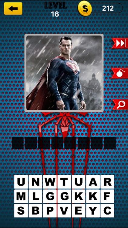 Comic Super Hero Trivia Quiz 2 - Guess Your Superheros and Super Villains