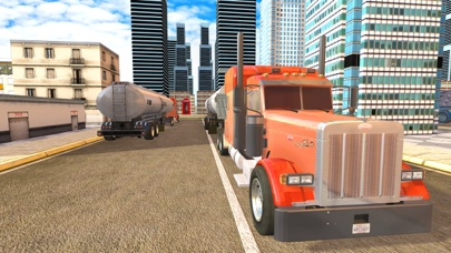 Uphill Cargo Truck Driving 3D - Drive Cargo Truck And Oil Tanker in Offroad & City Environment screenshot two