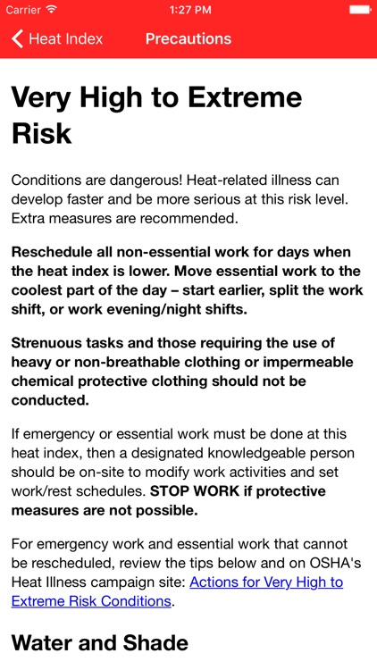 OSHA Heat Safety Tool screenshot-4