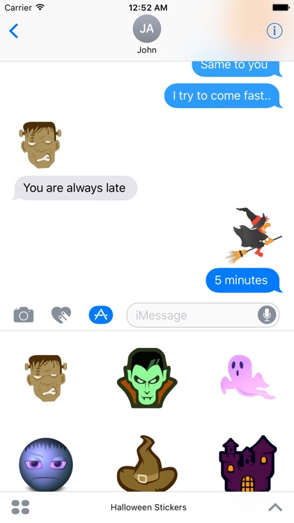 Halloween Stickers HD