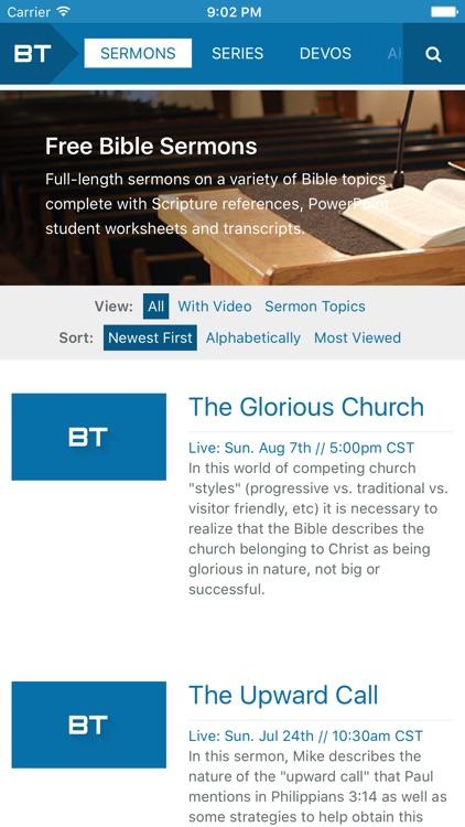 Church of Christ Videos - BibleTalk.tv