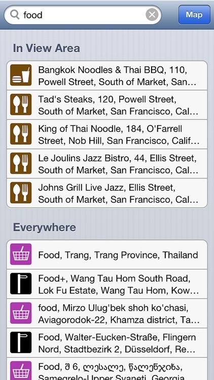 Thailand - Offline Map & GPS Navigator screenshot-3