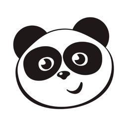 Happy Panda Stickers