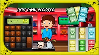 Halloween Supermarket Shopping- Store Cashier screenshot four