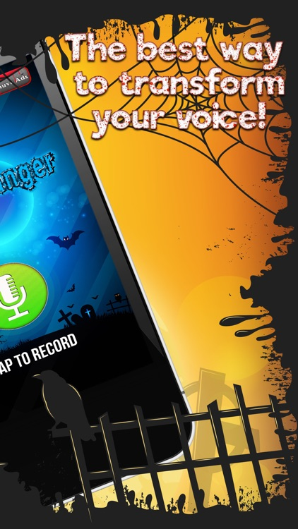 Scary Voice Changer – Record Yourself & Add Filter