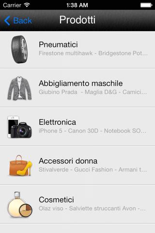 Screenshot of iAgency