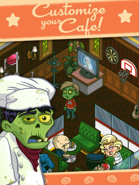 Zombie Café screenshot