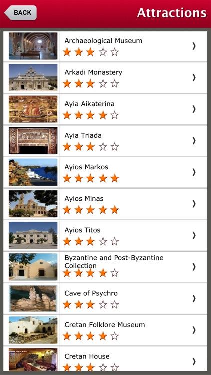 Crete Island Offline Travel Guide
