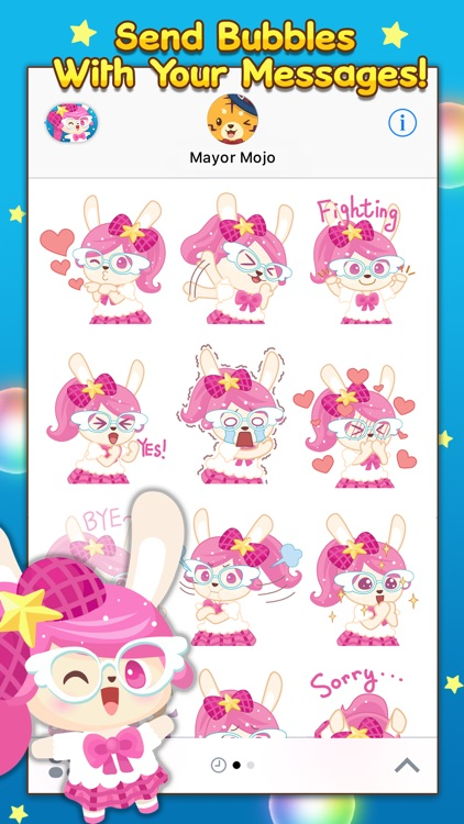 Bubbles Pop Stickers