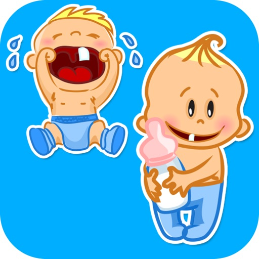 Funny Toddlers Stickers