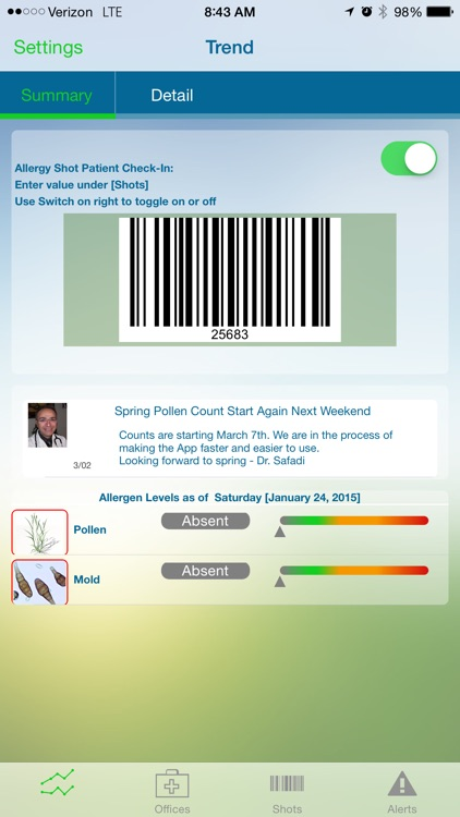 Allergy Pollen Count screenshot-2