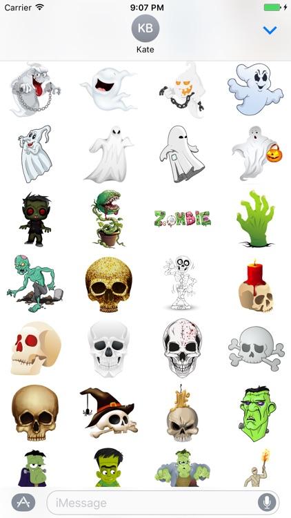 Halloween Sticker Pack - 200+ Stickers