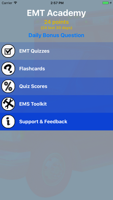 Emt Academy Exam Prep review screenshots