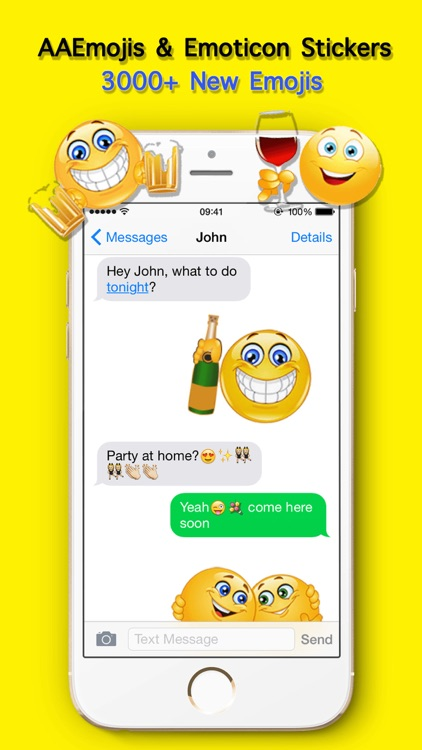 AA Emoji Keyboard - Animated Smiley Me Adult Icons